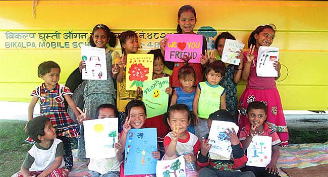 nepal enfants