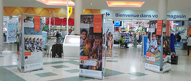 expo cantines du monde Carrefour Venette