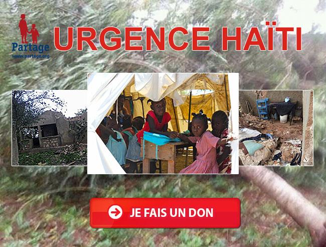 urgence ouragan Haïti