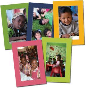 cartes PARTAGE Visages D'Enfants