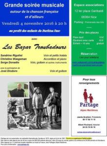 Concert Nice - Partage Alpes Maritimes