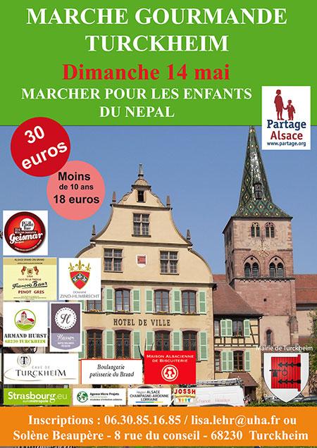 marche gourmande en Alsace