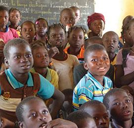 Je donne pour les enfants burkinabè