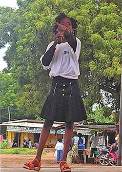 Dorcas journée de l'enfant africain