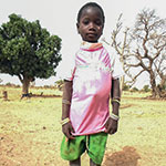 Antoinette, bénéficiaire du programme Tin Tua au Burkina Faso