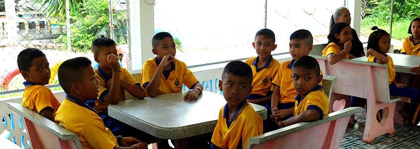 Une école Thaïlandaise de notre partenaire HSF