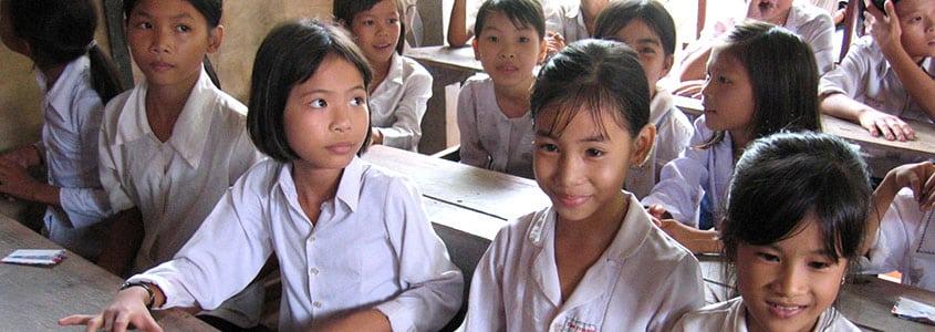 Des écoliers de Partage Vietnam
