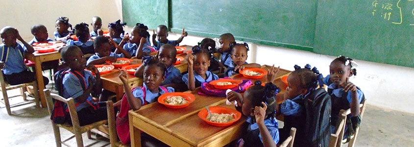 La cantine d'ADEMA, partenaire Haïtien