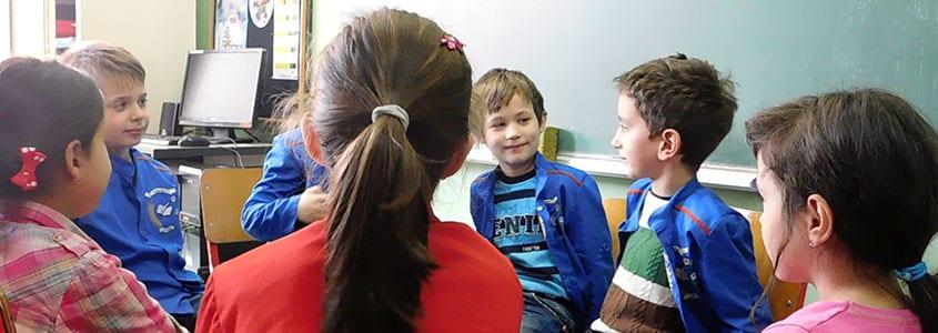 Un groupe d'élève bénéficiaires de DUGA