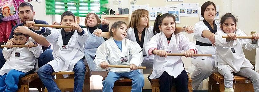 Un atelier avec les bénéficiaires du SESOBEL au Liban