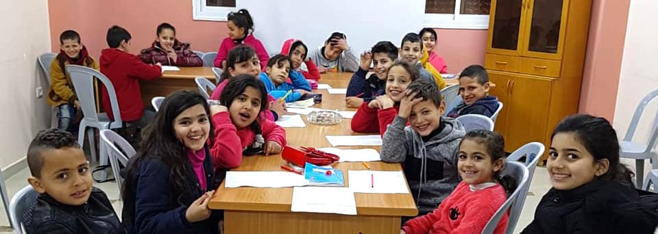 Une classe de notre partenaire IBDAA en Palestine