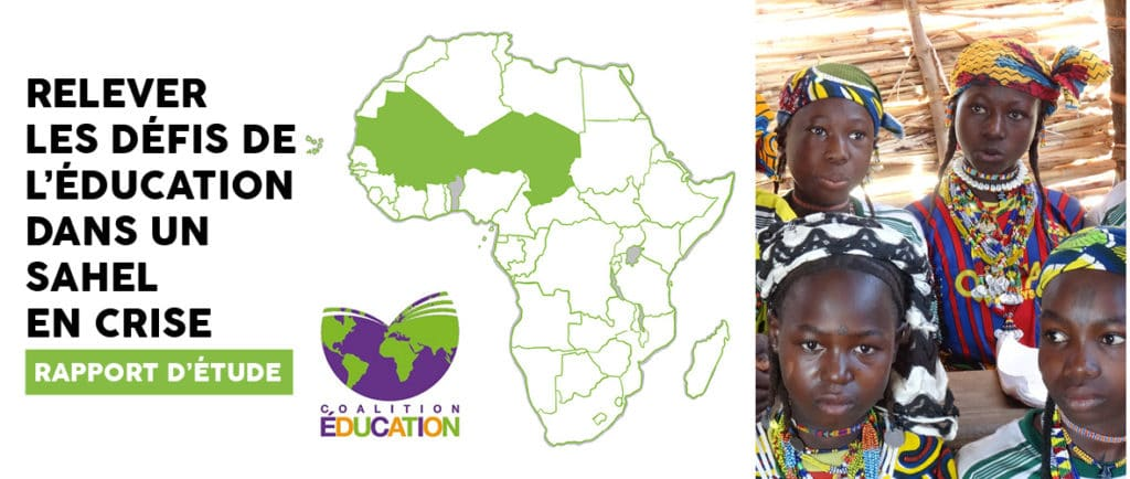 """Etude de la Coalition Education : """"Relever les défis de l'éducation dans un Sahel en crise"""""""