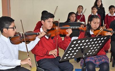 Tournée INEPE - Les enfants d'Equateur nous ouvrent leur choeur