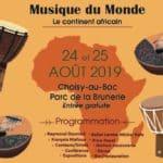Partage Oise au Festival Musique du Monde Choisy-au-Bac en août 2019