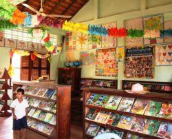 Bibliothèque Bandos Komar au Cambodge