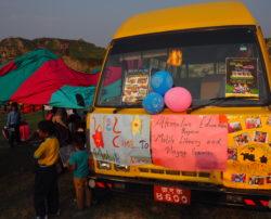 Bibliobus pour les enfants du Népal