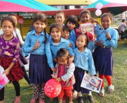 Les enfants Népalais