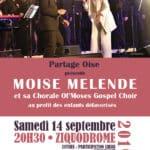 Affiche Ol'Moses Gospel Choir