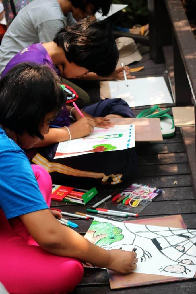 Camp d'été du CPCR en Thaïlande