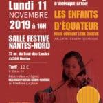 Concert à Nantes avec des enfants équatoriens de l'INEPE