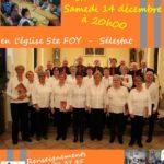 Concert Chœur de roches pour Partage Alsace
