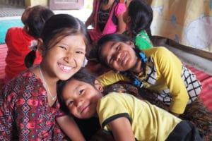 Jeunes filles népalaises - Bikalpa