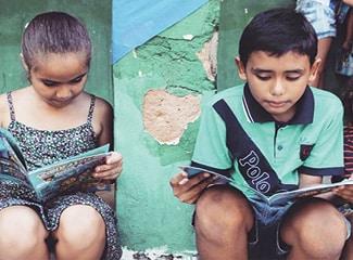 Projet Partage 2020 AGACC : Tentes de lecture pour 1000 enfants