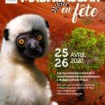 Affiche Madagascar en fête au Zoo de Mulhouse