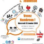 Affiche forum Jeunesse de Nanteuil le Haudouin