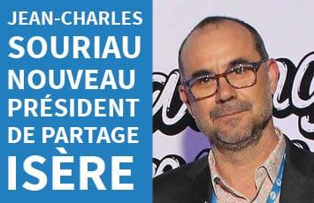 Jean-Charles Souriau, nouveau Président de Partage Isère