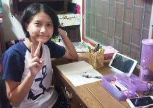Bung - Témoignage enfant du CPCR en Thaïlande sur le COVID-19