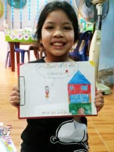Tonkla - Témoignage enfant du CPCR en Thaïlande sur le COVID-19