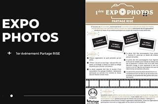 Partage RISE : exposition photos