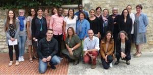 L'équipe de l'association Partage à Compiègne