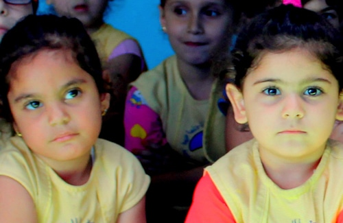 Enfants du MSL au Liban