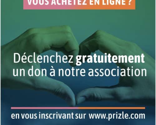 Soutenez l'association Partage en faisant vos achats en ligne avec Prizle
